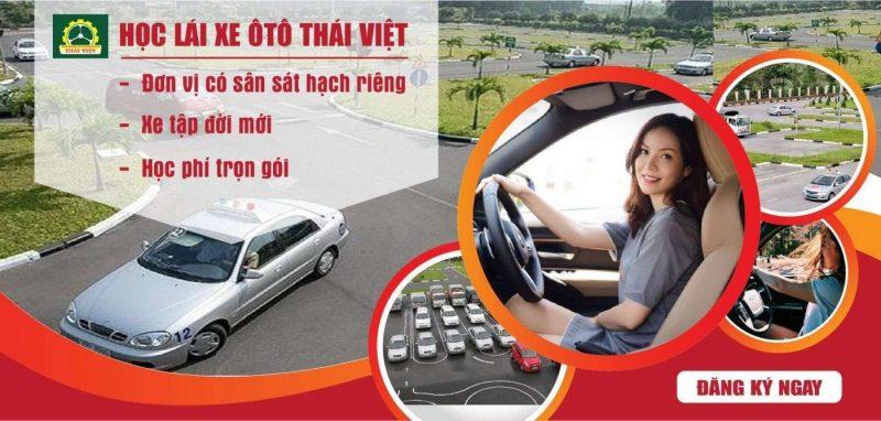 Thi bằng lái xe b2 tại Trung tâm Thái Việt